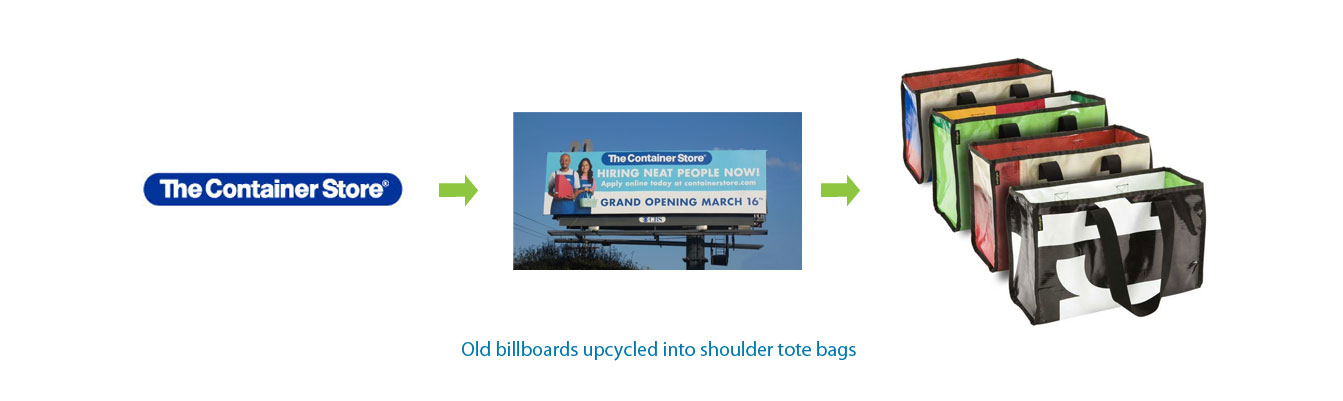 Container-Store-Billboards-upcycled-into-tote-bags