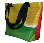 Banner Basket Tote- Medium