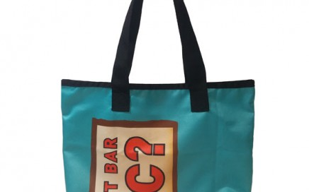 Upcycled Tote for Clif Bar
