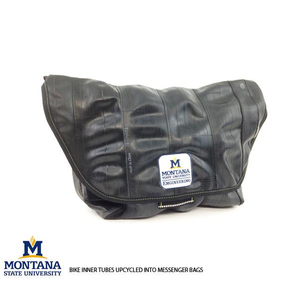 Upcycled Innertube Messenger Bag